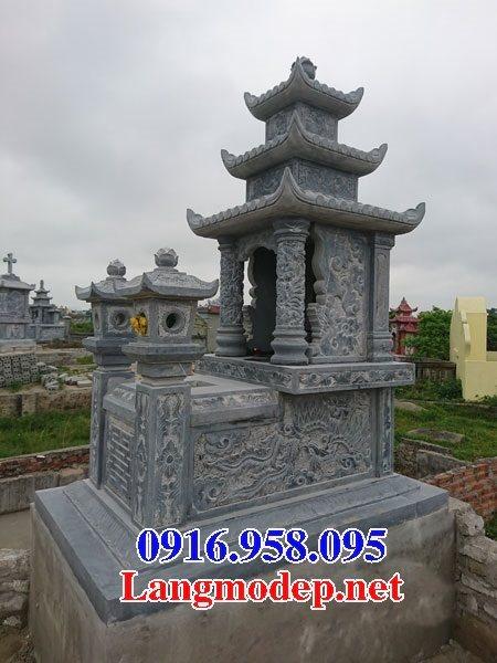 50 Mẫu mộ đá ba mái đẹp bán giá rẻ 05