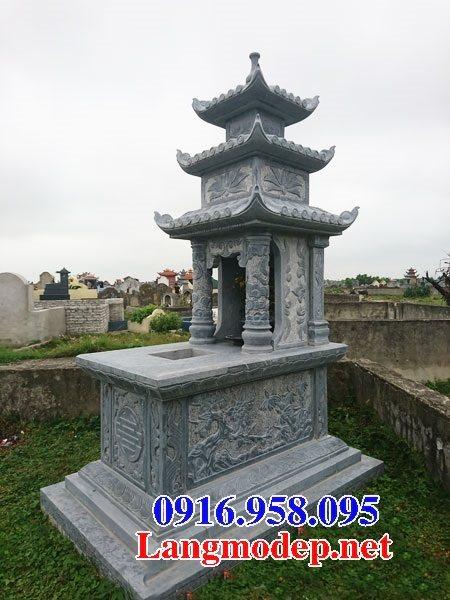 50 Mẫu mộ đá ba mái đẹp bán giá rẻ 09