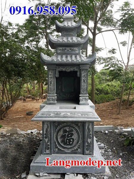 50 Mẫu mộ đá ba mái đẹp bán giá rẻ 11