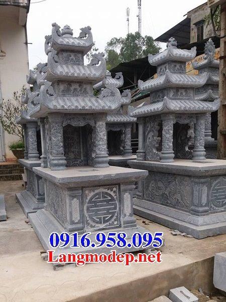50 Mẫu mộ đá ba mái đẹp bán giá rẻ 16