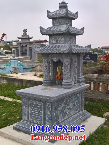 50 Mẫu mộ đá ba mái đẹp bán giá rẻ 17