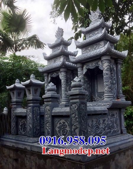 50 Mẫu mộ đá ba mái đẹp bán giá rẻ 26
