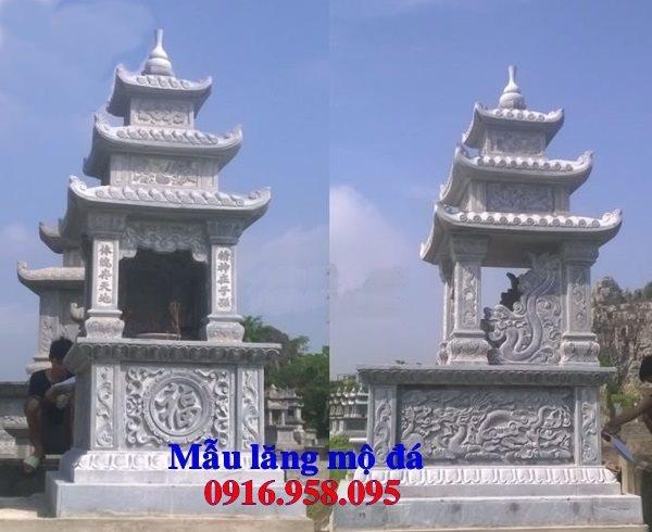 50 Mẫu mộ đá ba mái đẹp bán giá rẻ 29