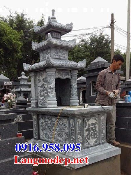 50 Mẫu mộ đá ba mái đẹp bán giá rẻ 39