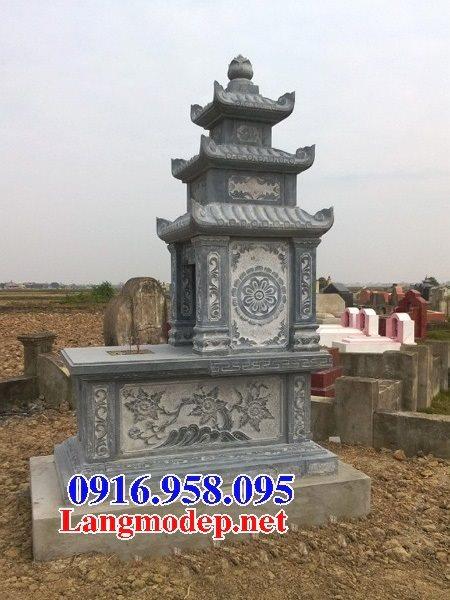 50 Mẫu mộ đá ba mái đẹp bán giá rẻ 44