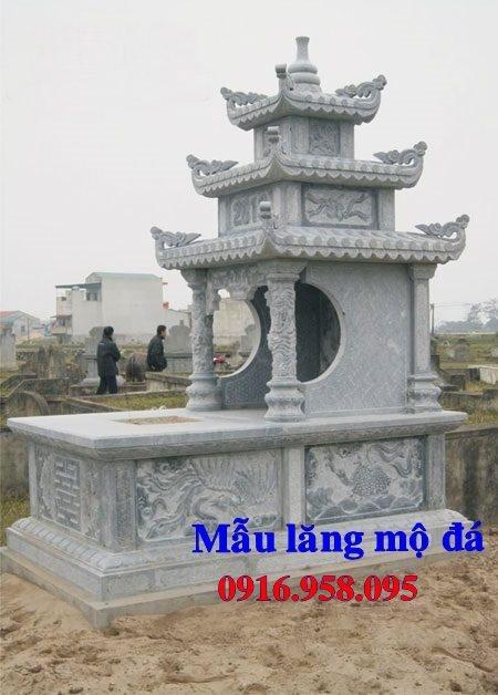50 Mẫu mộ đá ba mái đẹp bán giá rẻ 46