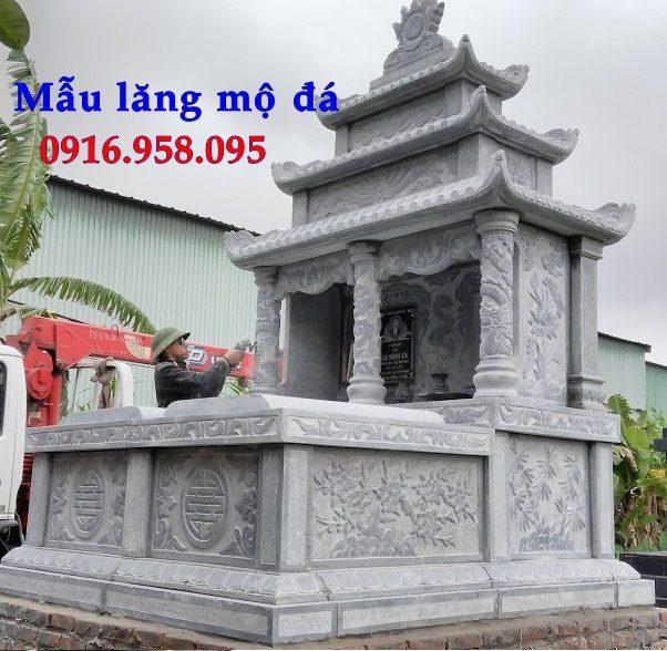 50 Mẫu mộ đá ba mái đẹp bán giá rẻ 48