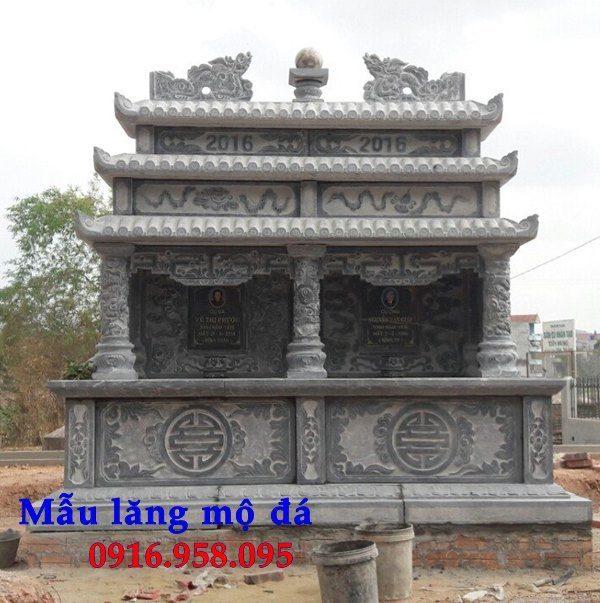 50 Mẫu mộ đá ba mái đẹp bán giá rẻ 50