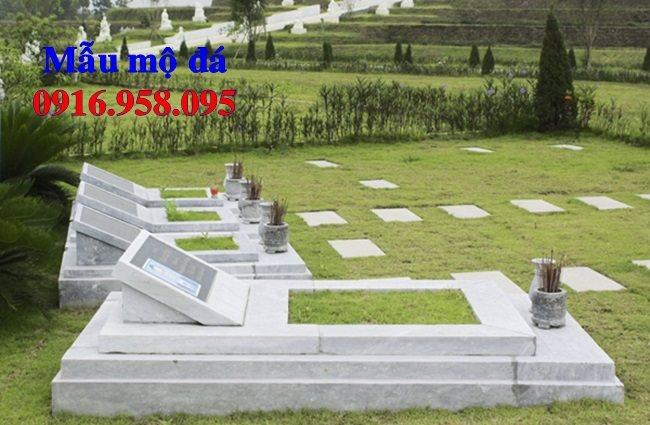 50 Mẫu mộ tam cấp bằng đá xanh đẹp