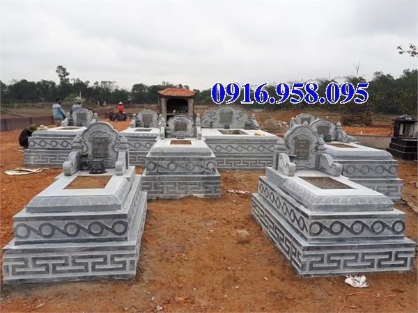 50 Mẫu mộ tam cấp bằng đá xanh đẹp 01