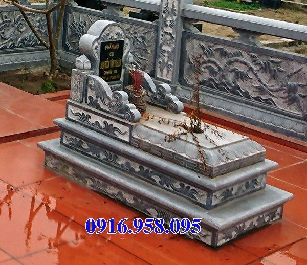50 Mẫu mộ tam cấp bằng đá xanh đẹp 02