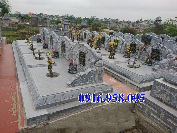 50 Mẫu mộ tam cấp bằng đá xanh đẹp 09
