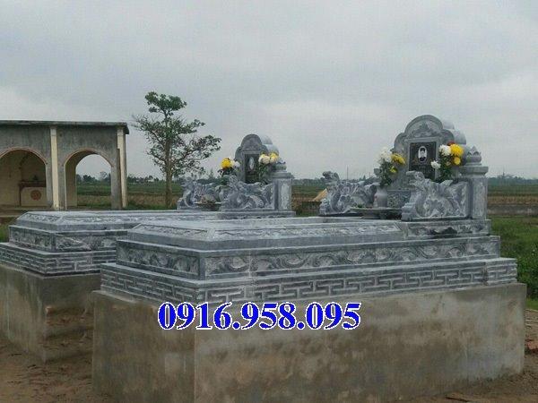 50 Mẫu mộ tam cấp bằng đá xanh đẹp 10