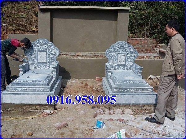 50 Mẫu mộ tam cấp bằng đá xanh đẹp 11