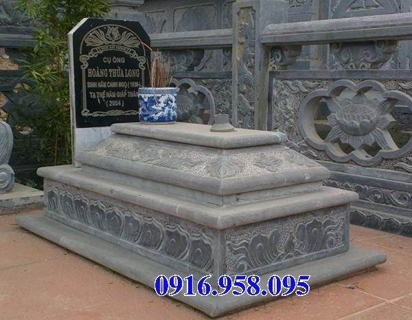 50 Mẫu mộ tam cấp bằng đá xanh đẹp 12