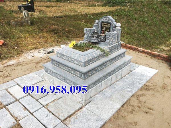 50 Mẫu mộ tam cấp bằng đá xanh đẹp 14