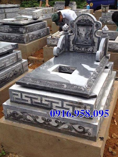 50 Mẫu mộ tam cấp bằng đá xanh đẹp 16