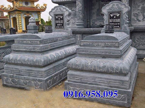 50 Mẫu mộ tam cấp bằng đá xanh đẹp 17
