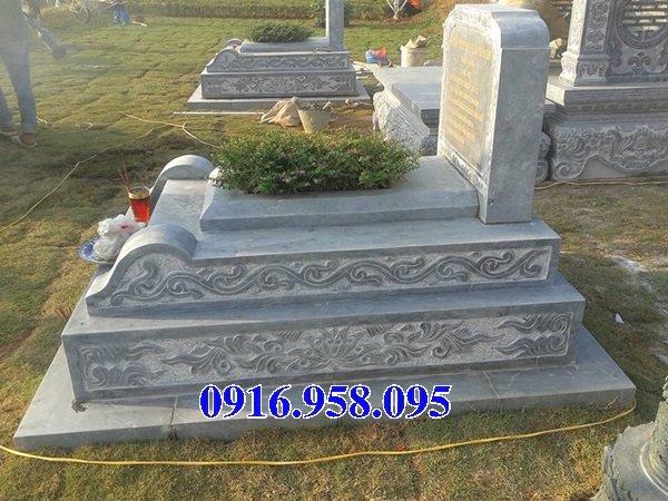 50 Mẫu mộ tam cấp bằng đá xanh đẹp 18