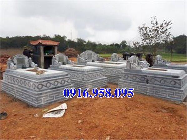 50 Mẫu mộ tam cấp bằng đá xanh đẹp 19