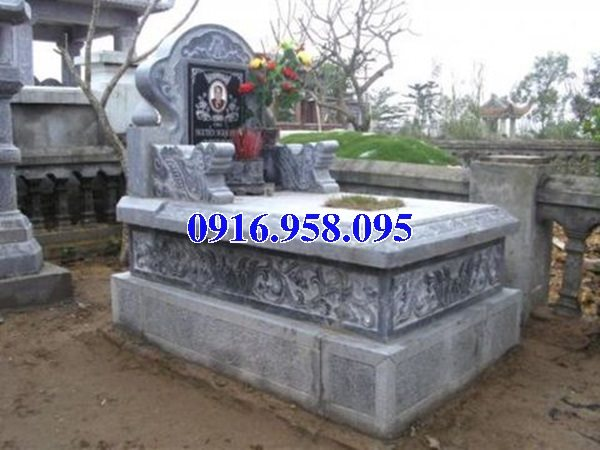 50 Mẫu mộ tam cấp bằng đá xanh đẹp 22