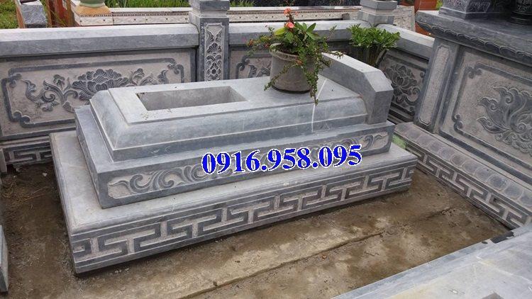50 Mẫu mộ tam cấp bằng đá xanh đẹp 23