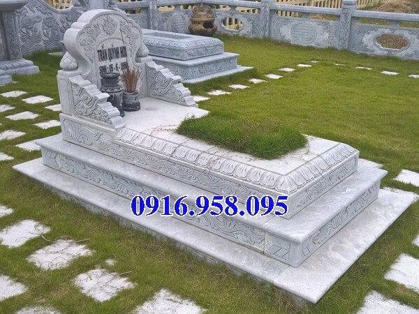 50 Mẫu mộ tam cấp bằng đá xanh đẹp 25