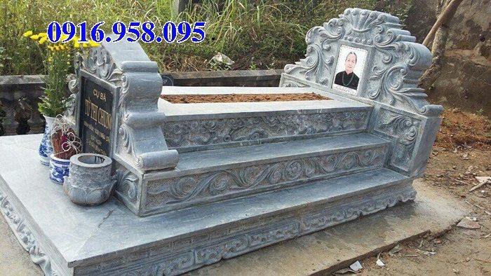 50 Mẫu mộ tam cấp bằng đá xanh đẹp 26