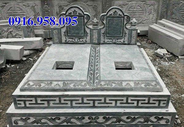 50 Mẫu mộ tam cấp bằng đá xanh đẹp 27