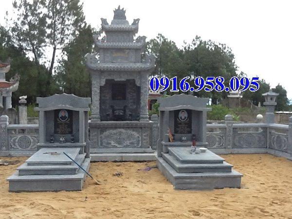 50 Mẫu mộ tam cấp bằng đá xanh đẹp 28