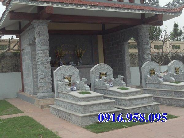 50 Mẫu mộ tam cấp bằng đá xanh đẹp 30