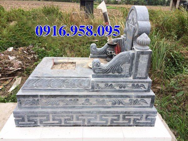50 Mẫu mộ tam cấp bằng đá xanh đẹp 31