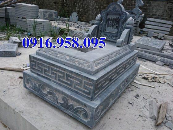 50 Mẫu mộ tam cấp bằng đá xanh đẹp 32