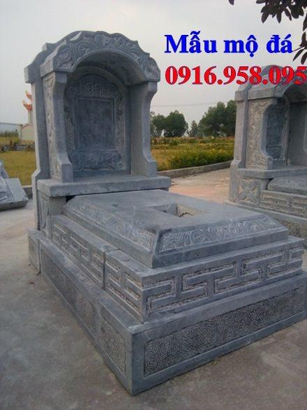 50 Mẫu mộ tam cấp bằng đá xanh đẹp 34