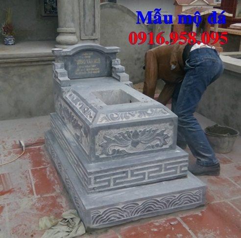 50 Mẫu mộ tam cấp bằng đá xanh đẹp 36