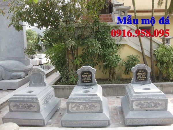 50 Mẫu mộ tam cấp bằng đá xanh đẹp 41