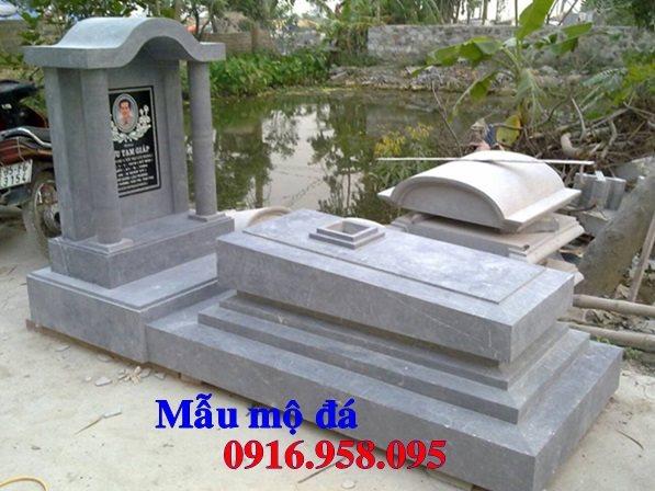 50 Mẫu mộ tam cấp bằng đá xanh đẹp 44