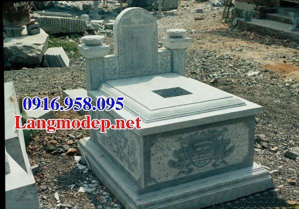 Các mẫu lăng mộ đá xanh rêu đẹp 12
