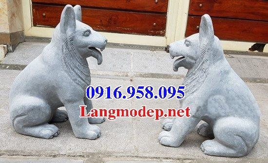 50 Mẫu chó đá phong thủy bán toàn quốc 34
