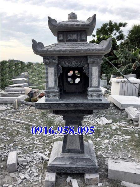Cây hương đá thờ thiên ngoài trời có mái che 18