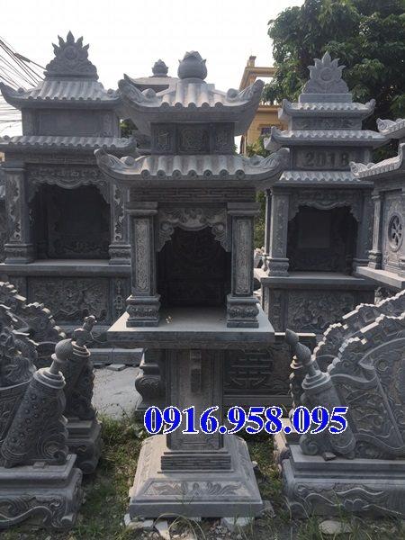 Cây hương đá thờ thiên ngoài trời có mái che 19
