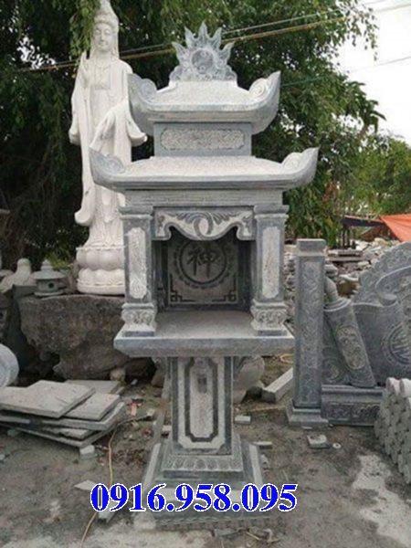 Cây hương đá thờ thiên ngoài trời có mái che 22