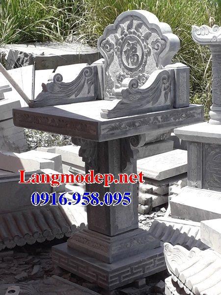 10 Mẫu cây hương nghĩa trang gia đình bằng đá 03
