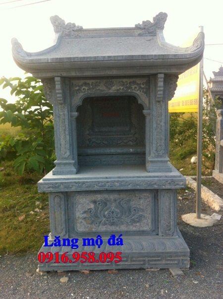 10 Mẫu cây hương nghĩa trang gia đình bằng đá 04