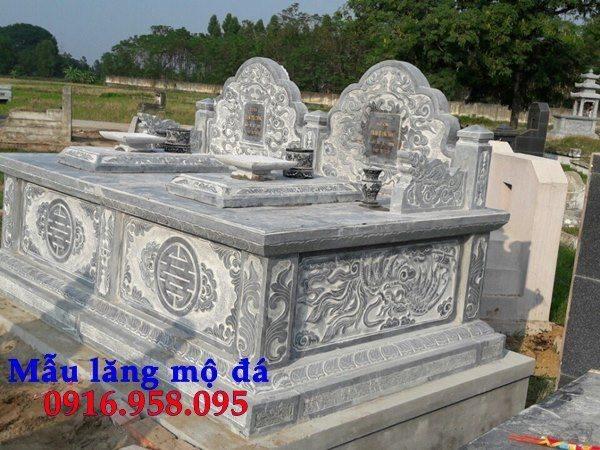 99 Mẫu lăng mộ đôi đẹp bằng đá xanh 101