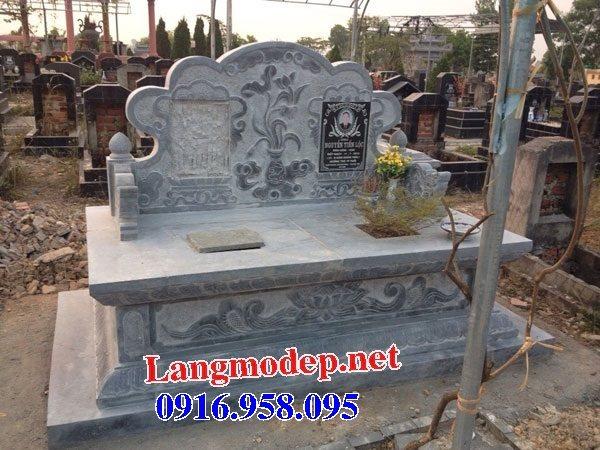 99 Mẫu lăng mộ đôi đẹp bằng đá xanh 44