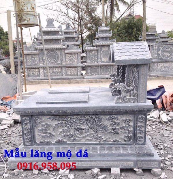 99 Mẫu lăng mộ đôi đẹp bằng đá xanh 89