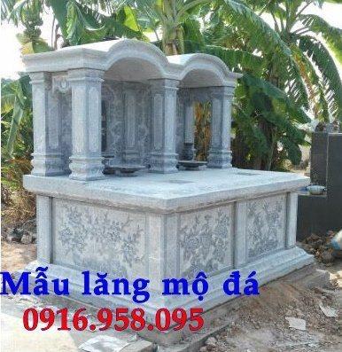 99 Mẫu lăng mộ đôi đẹp bằng đá xanh 94