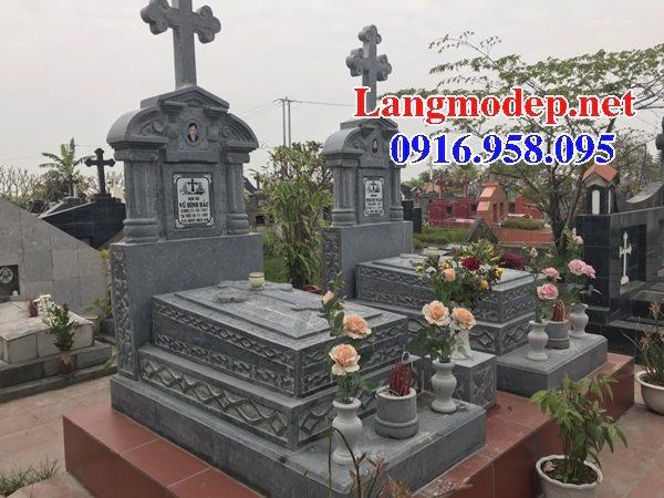 Bán các kiểu mẫu mộ công giáo bằng đá đẹp