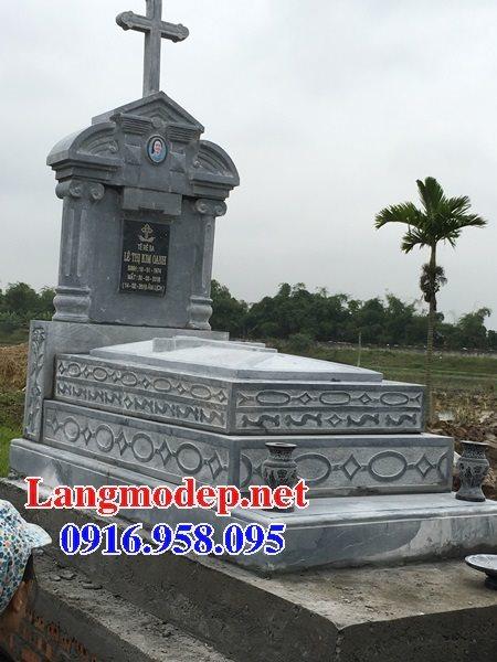 Bán các kiểu mẫu mộ công giáo bằng đá đẹp 02